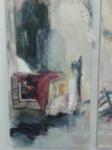 Varför enbart klöverkort i målningen? Lyft på täcket, sa konstnären. Där fanns ruter kung!