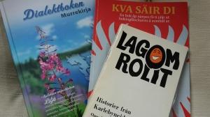 Et urval nyttiga och trevliga böcker...