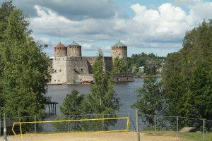 Ollofsborg från östra stranden