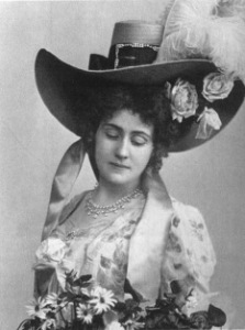 Aino Ackté som Tosca 1905